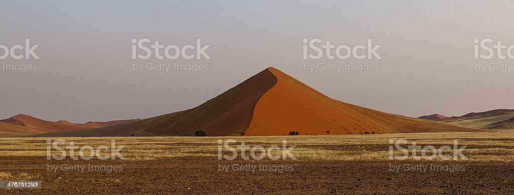 Namib desert dune royalty-free stock photo