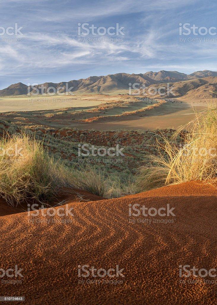 Namib Rand stock photo