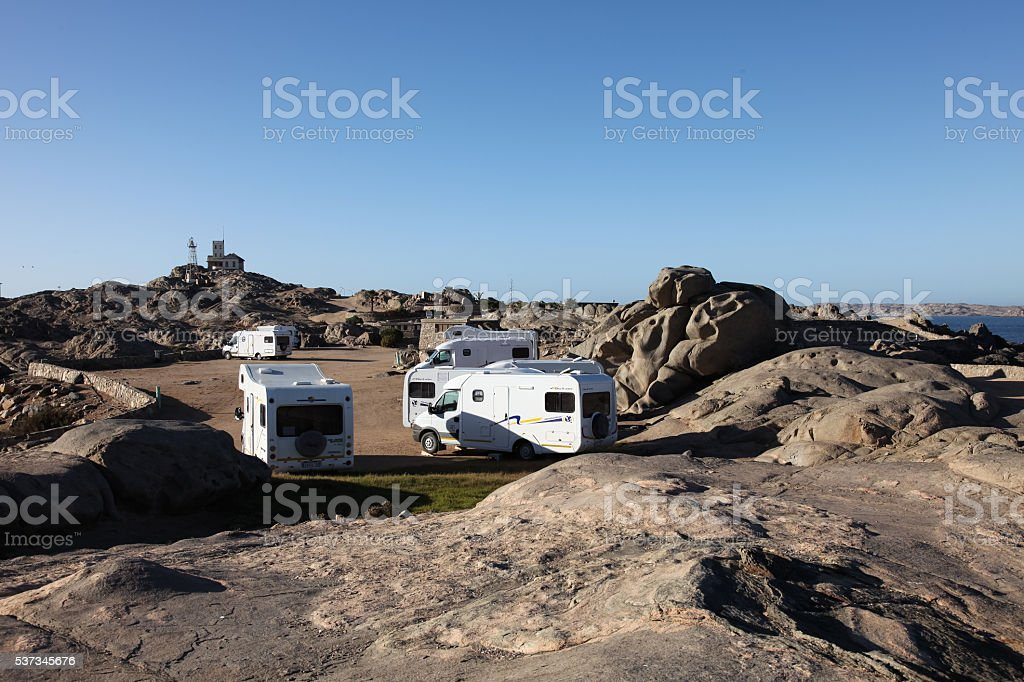 Namibia and landscapes stock photo