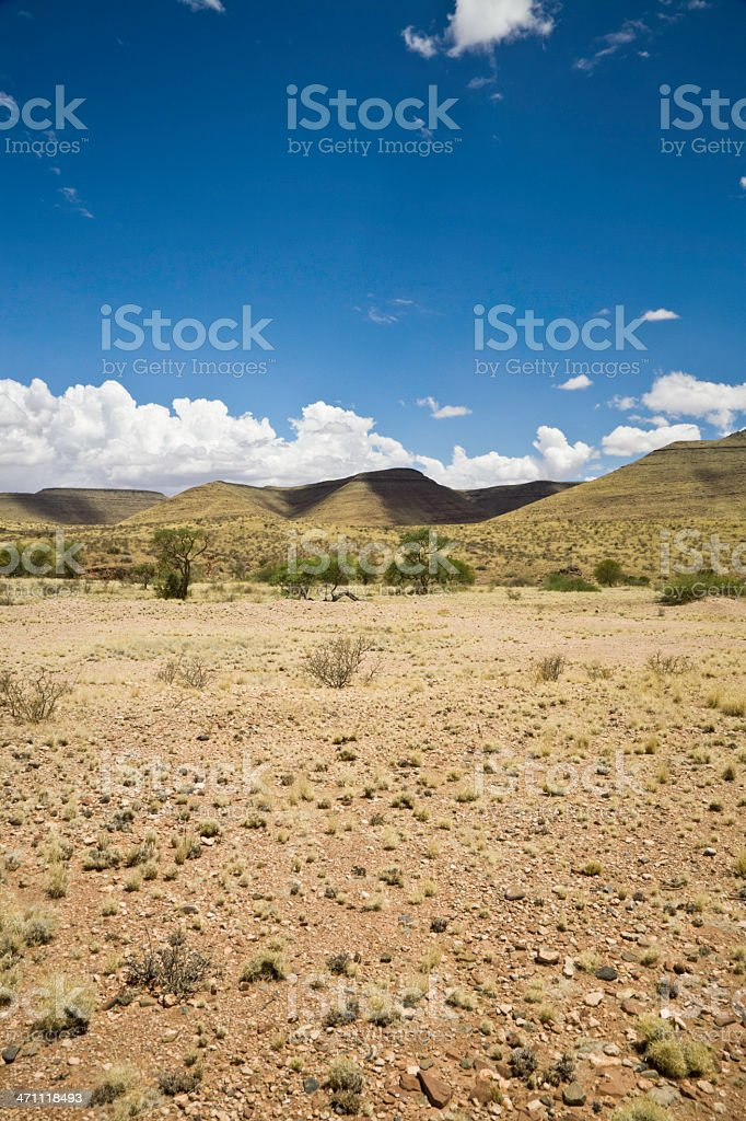 Namibian Desert Mountains royalty-free stock photo