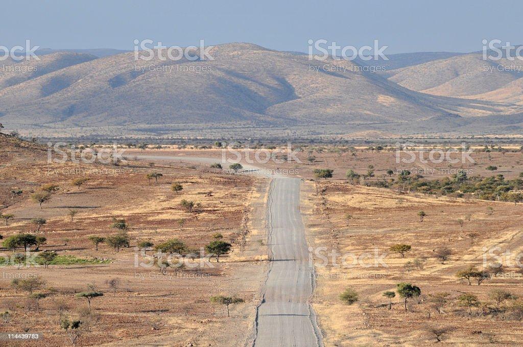 Namibian landscape royalty-free stock photo