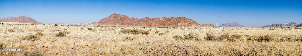 Namibian Landscape stock photo
