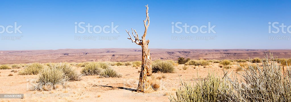 Namibian Landscape stock photo