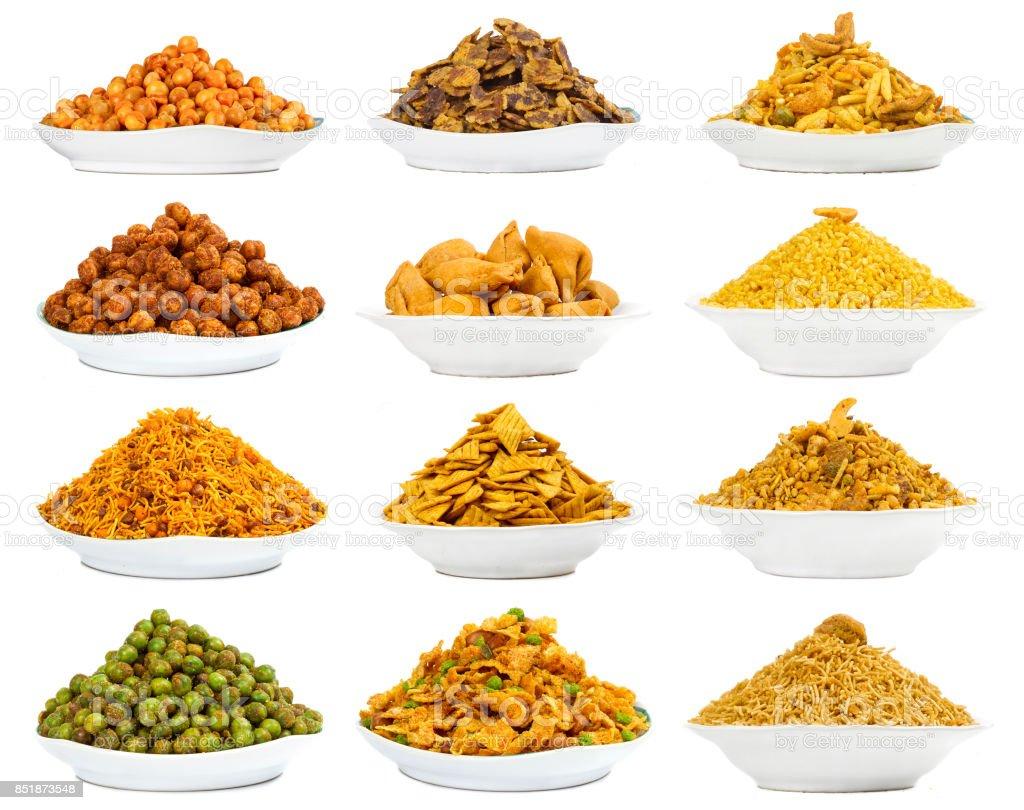 Namkeen food stock photo