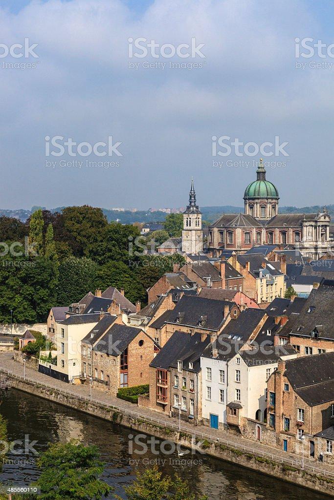 Namur - Quartier des Brasseurs, Belgium stock photo