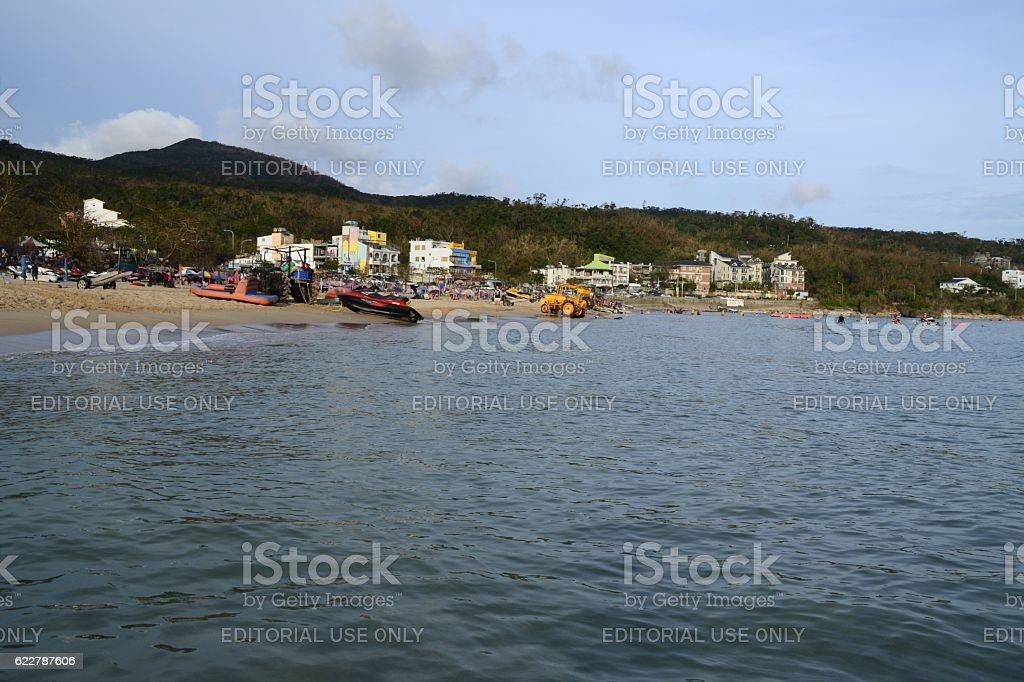 Namwan beach, Kenting, Taiwan stock photo