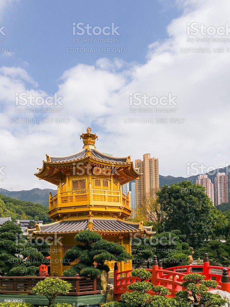 Nan Lian Garden : Hong Kong stock photo