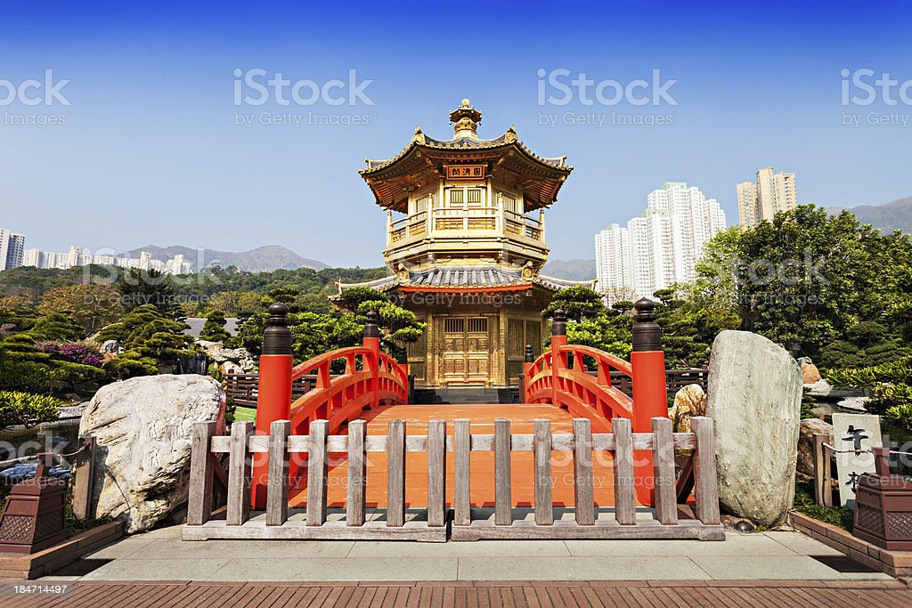 Nan Lian Garden stock photo