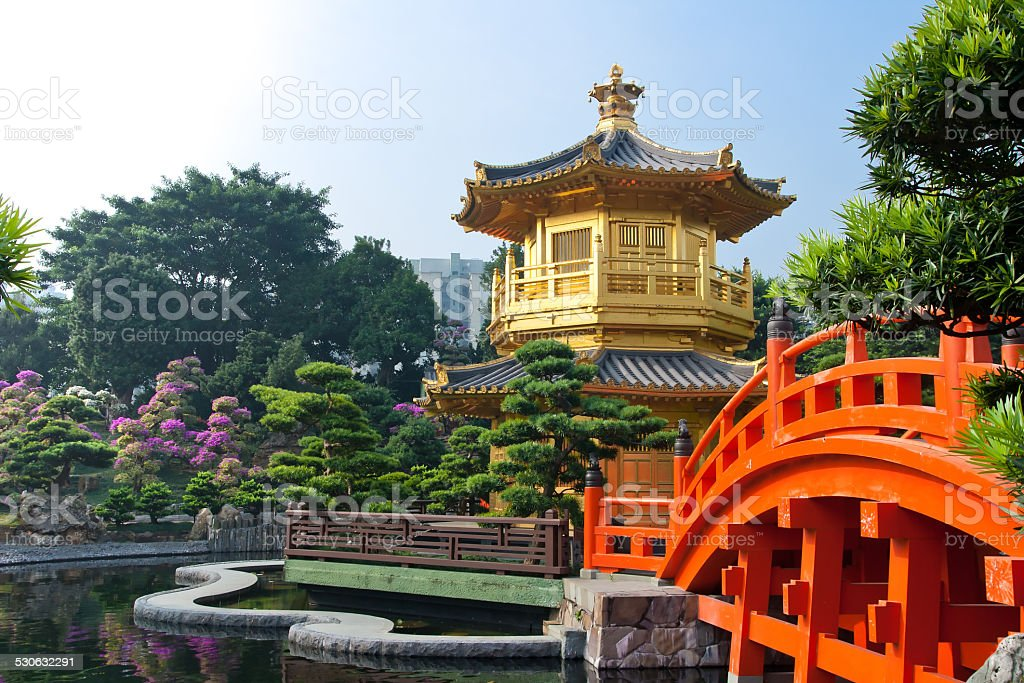 Nan Lian Garden,Hong Kong stock photo