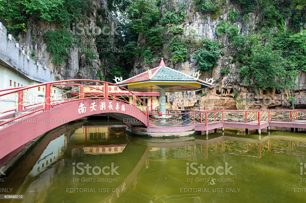 Nan Tian Tong temple in Ipoh,Malaysia. stock photo