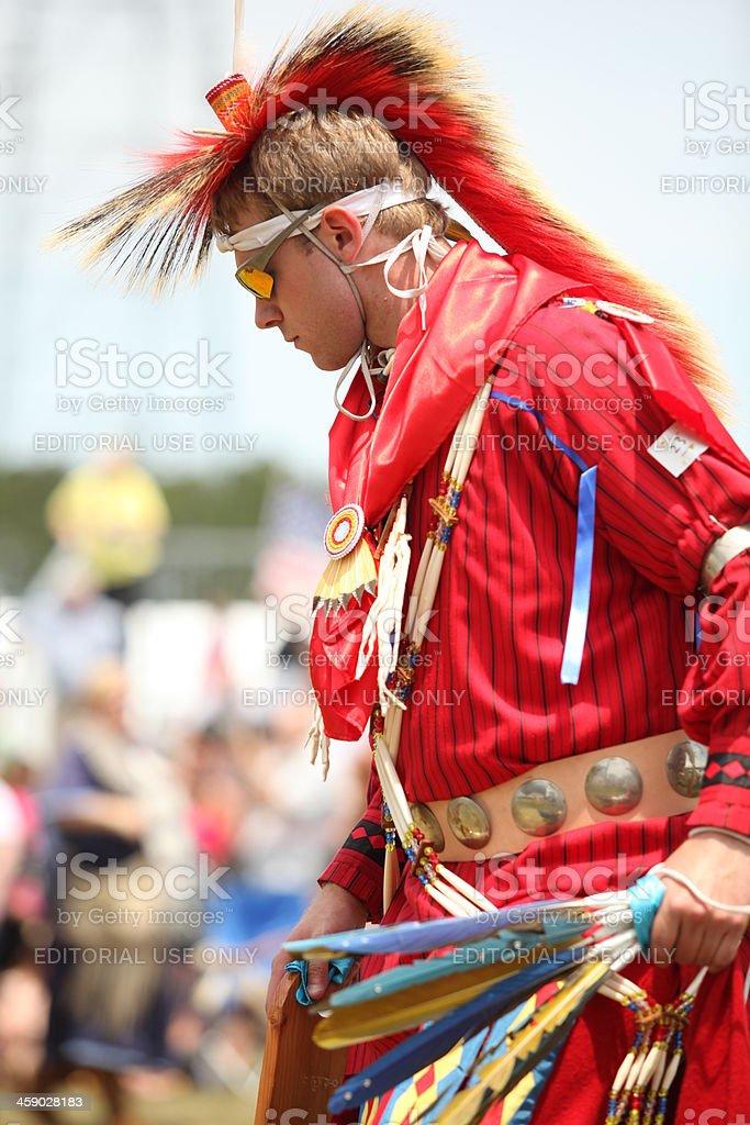 Nanesmond Indian Pow-wow stock photo