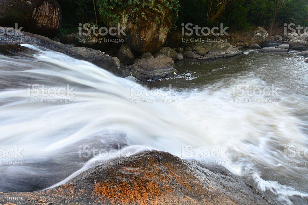 Nang Rong Waterfall stock photo
