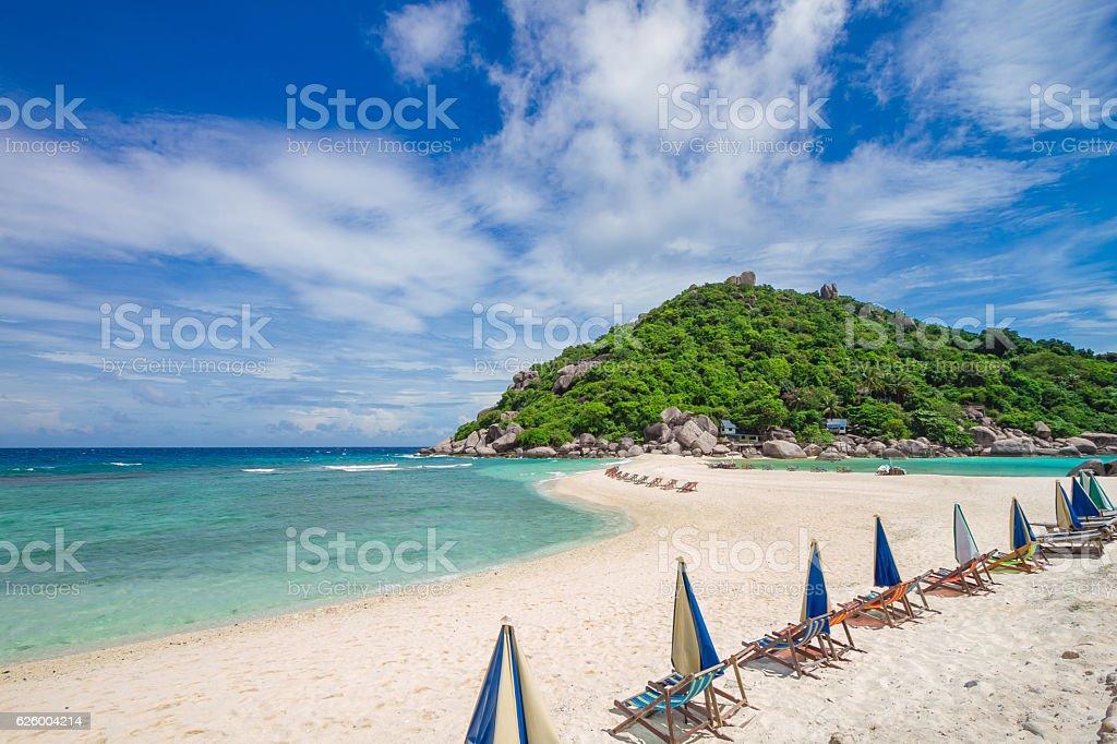 Nangyuan beautiful beaches stock photo