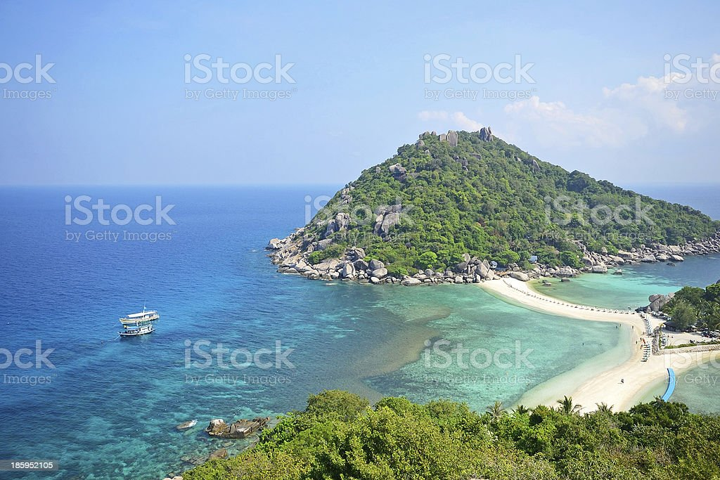 Nangyuan island stock photo