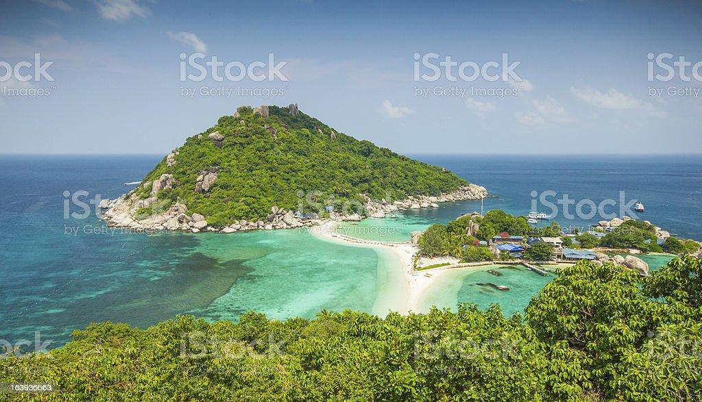 Nangyuan island,Thailand royalty-free stock photo