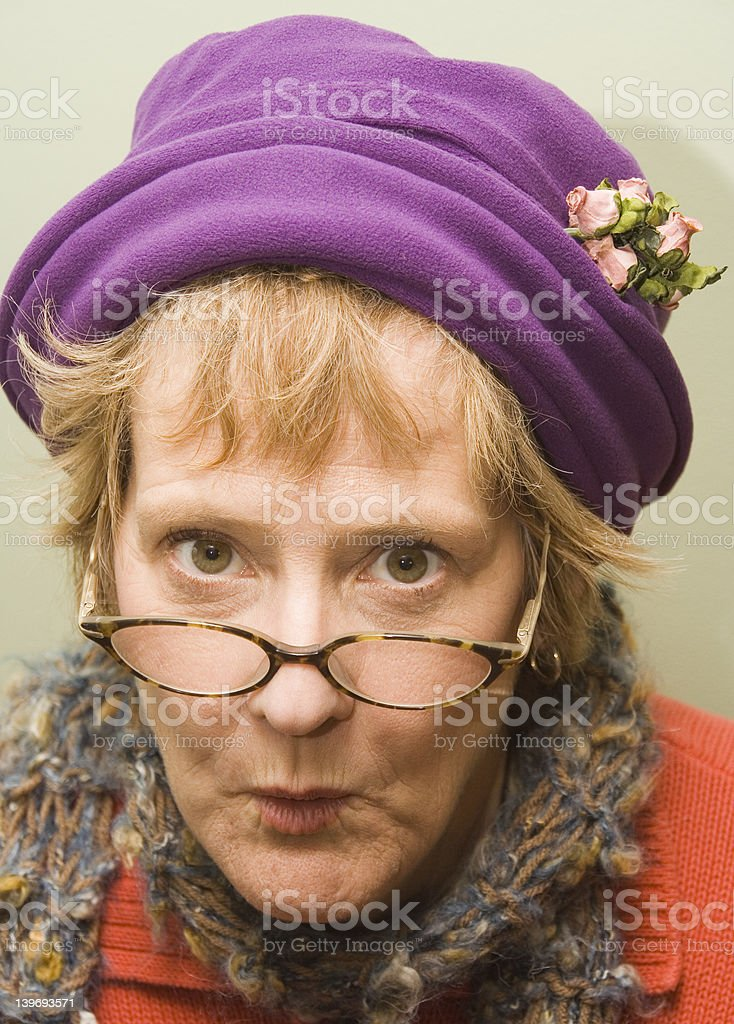 Nanny stock photo