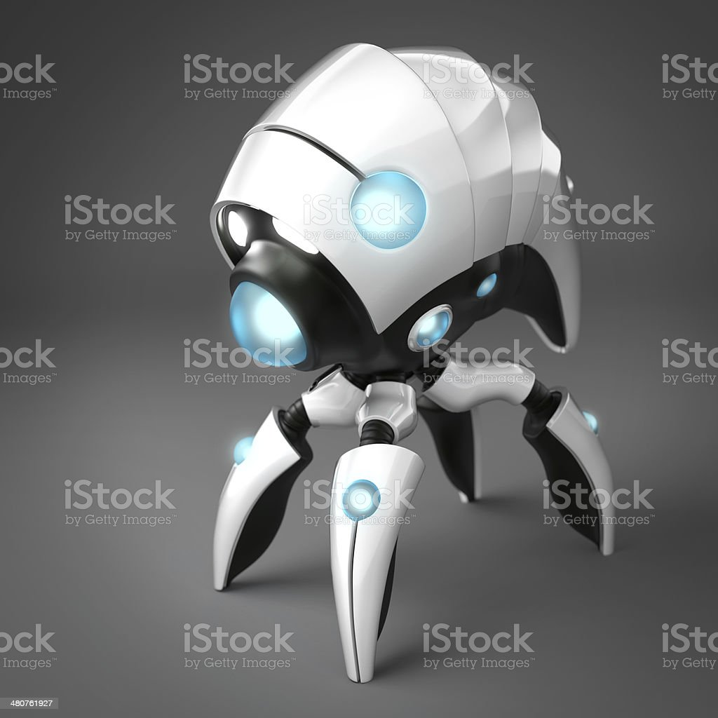 Nanorobot stock photo