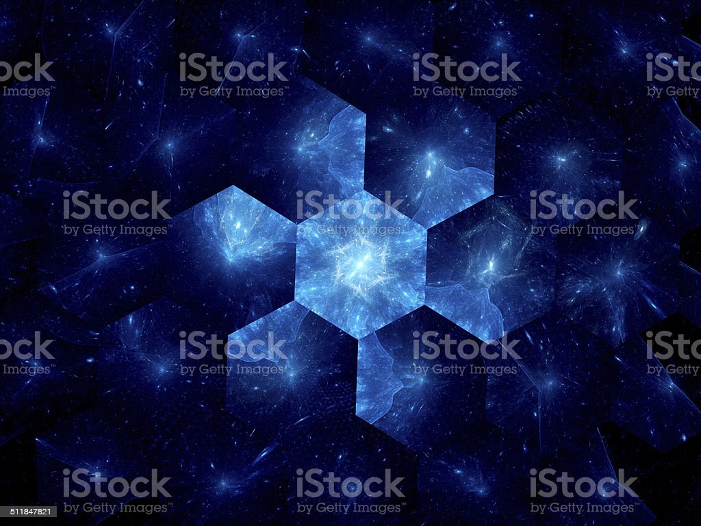 Nanotechnology in space industry royalty-free stock photo