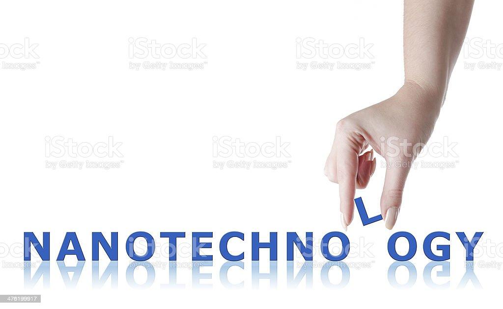 Nanotechnology royalty-free stock photo