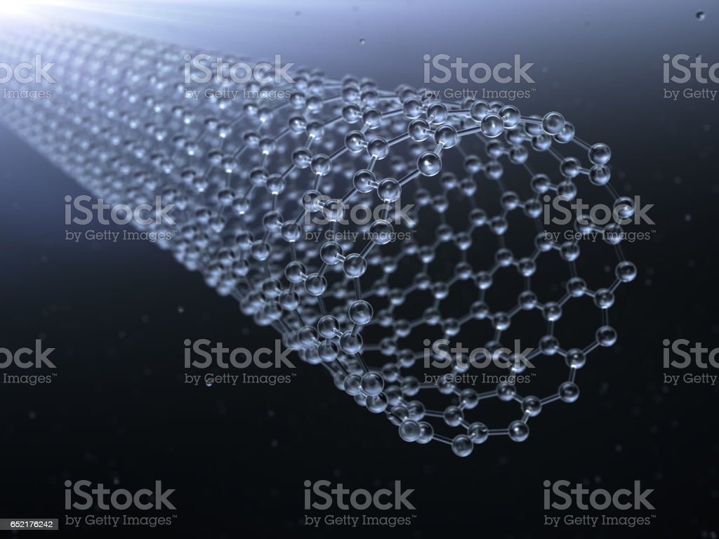 nanotube stock photo