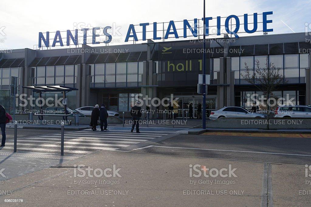 Nantes Airport France stock photo