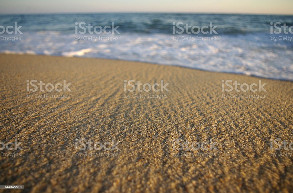 Nantucket Beach stock photo