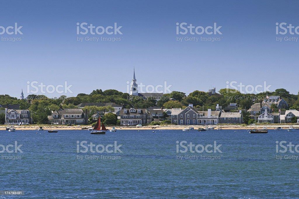 Nantucket, Massachusetts. royalty-free stock photo