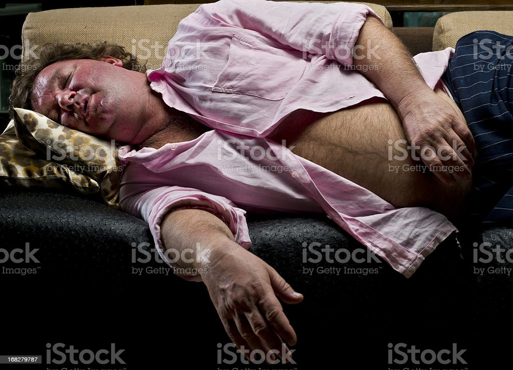 Siesta royalty-free stock photo