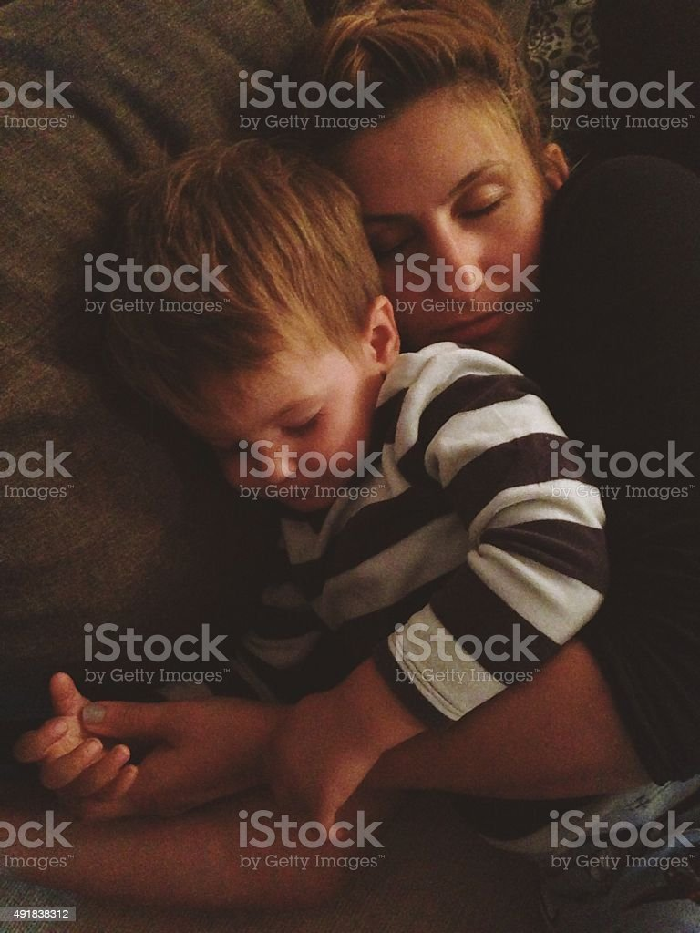 Nap time stock photo