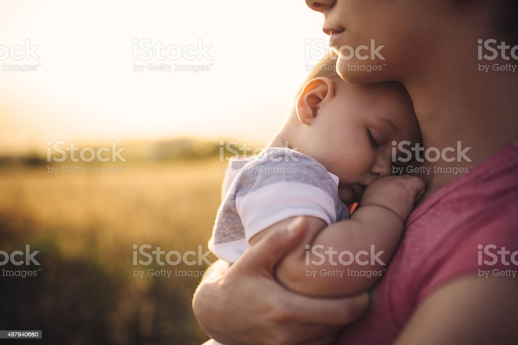 Nap time stock photo