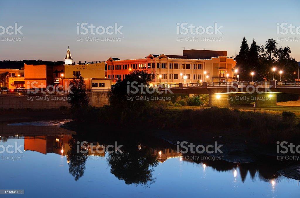 Napa California stock photo