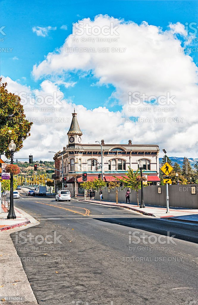 Napa Downtown Views stock photo