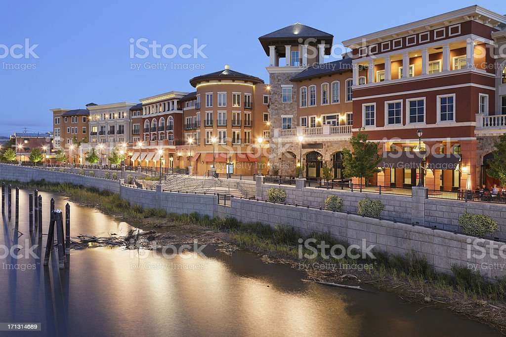 Napa Riverfront stock photo