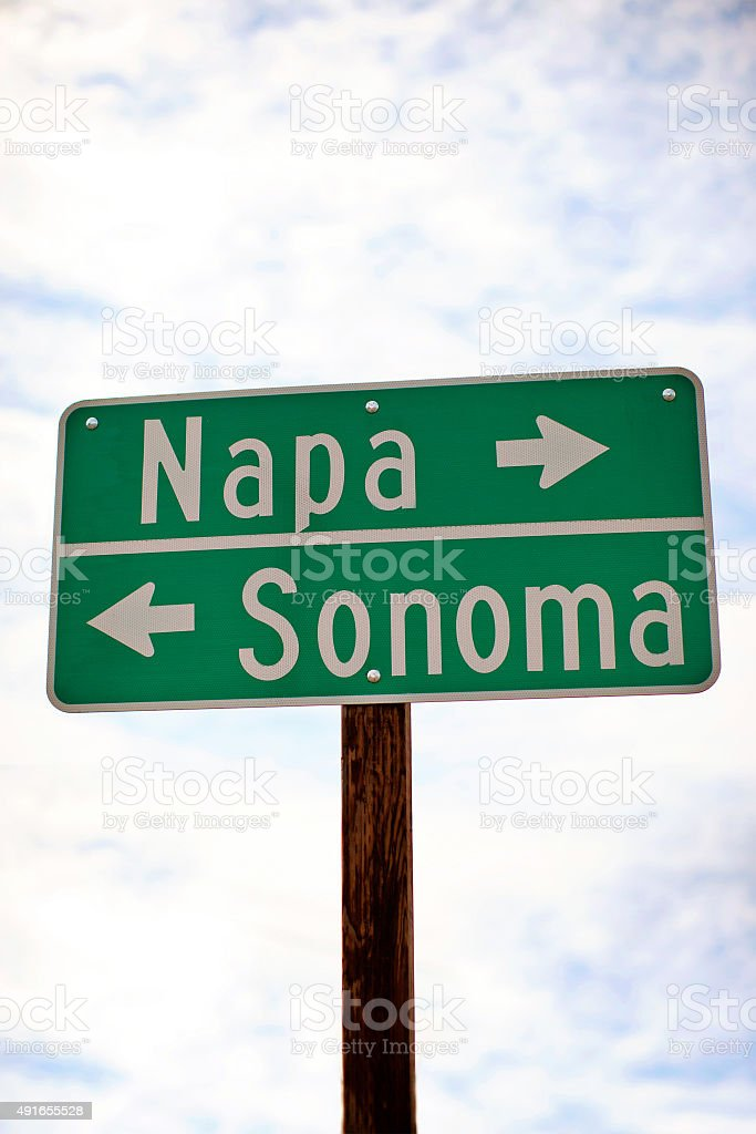 Napa Sonoma stock photo