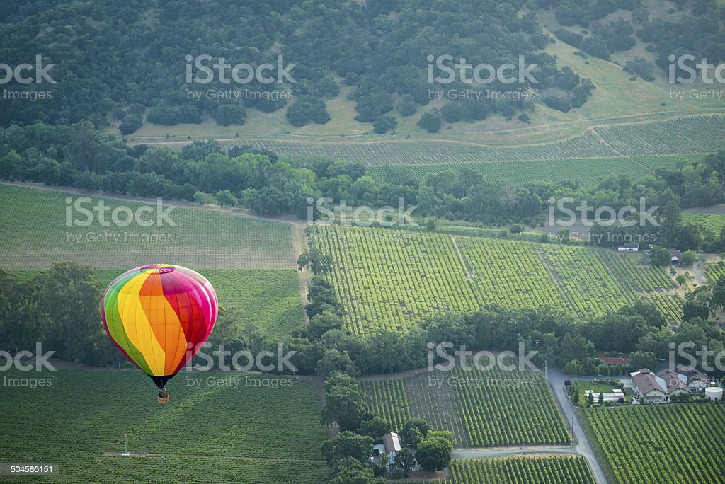 Napa Valley Aloft stock photo
