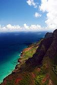 Napali Coastline in Kauai, Hawaii