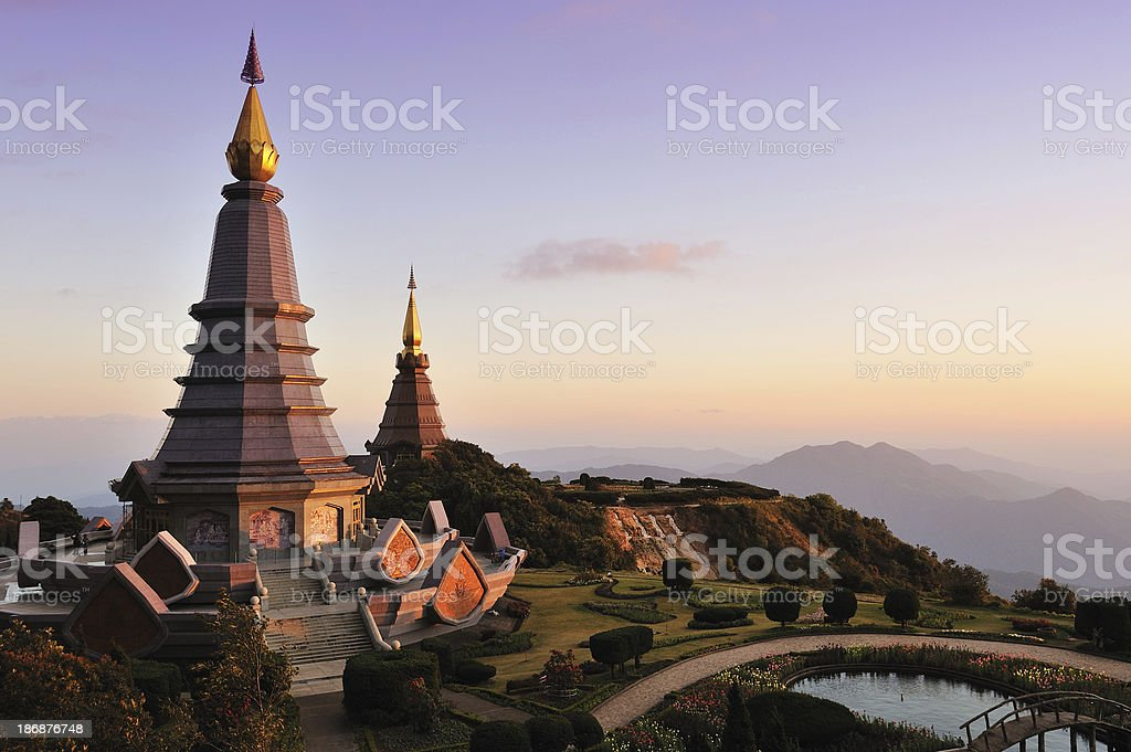 Napamaytanidol pagoda. stock photo