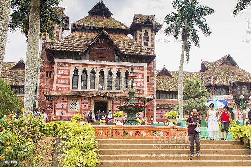Napier Art Museum, Kerala stock photo