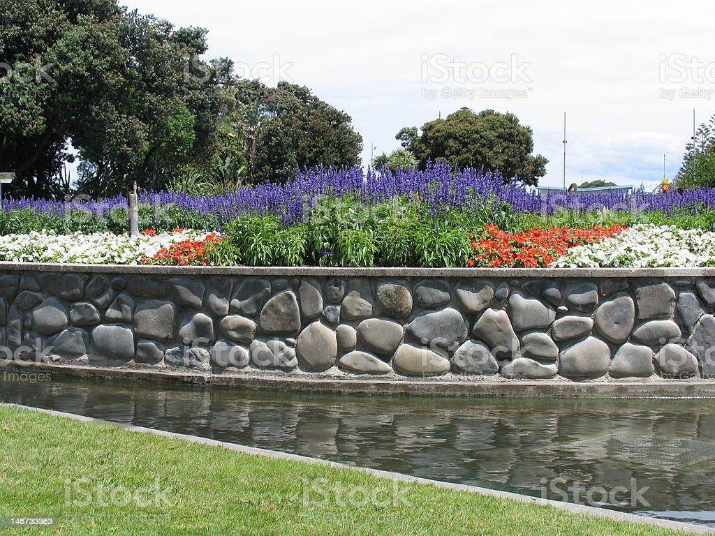Napier Garden stock photo
