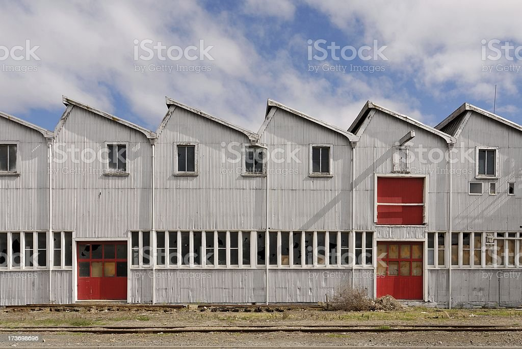Napier Wool Shed stock photo