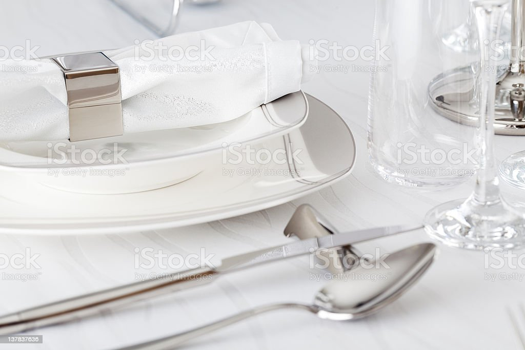 Napkin Holder royalty-free stock photo
