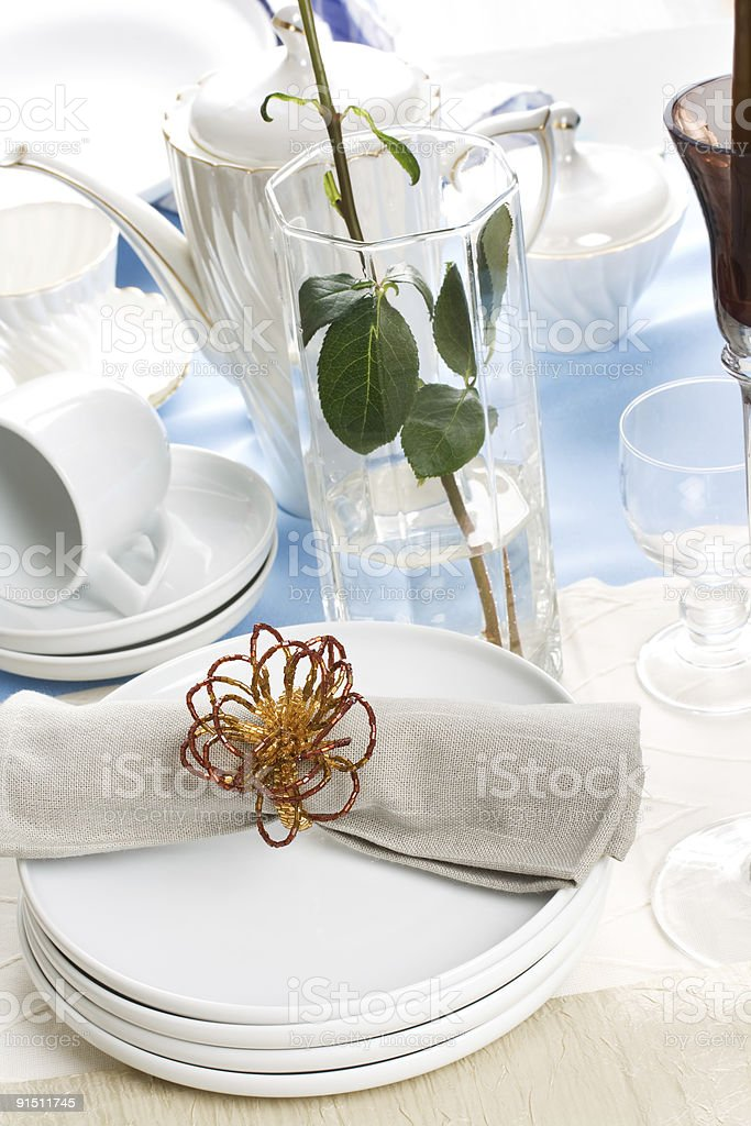 napkin royalty-free stock photo