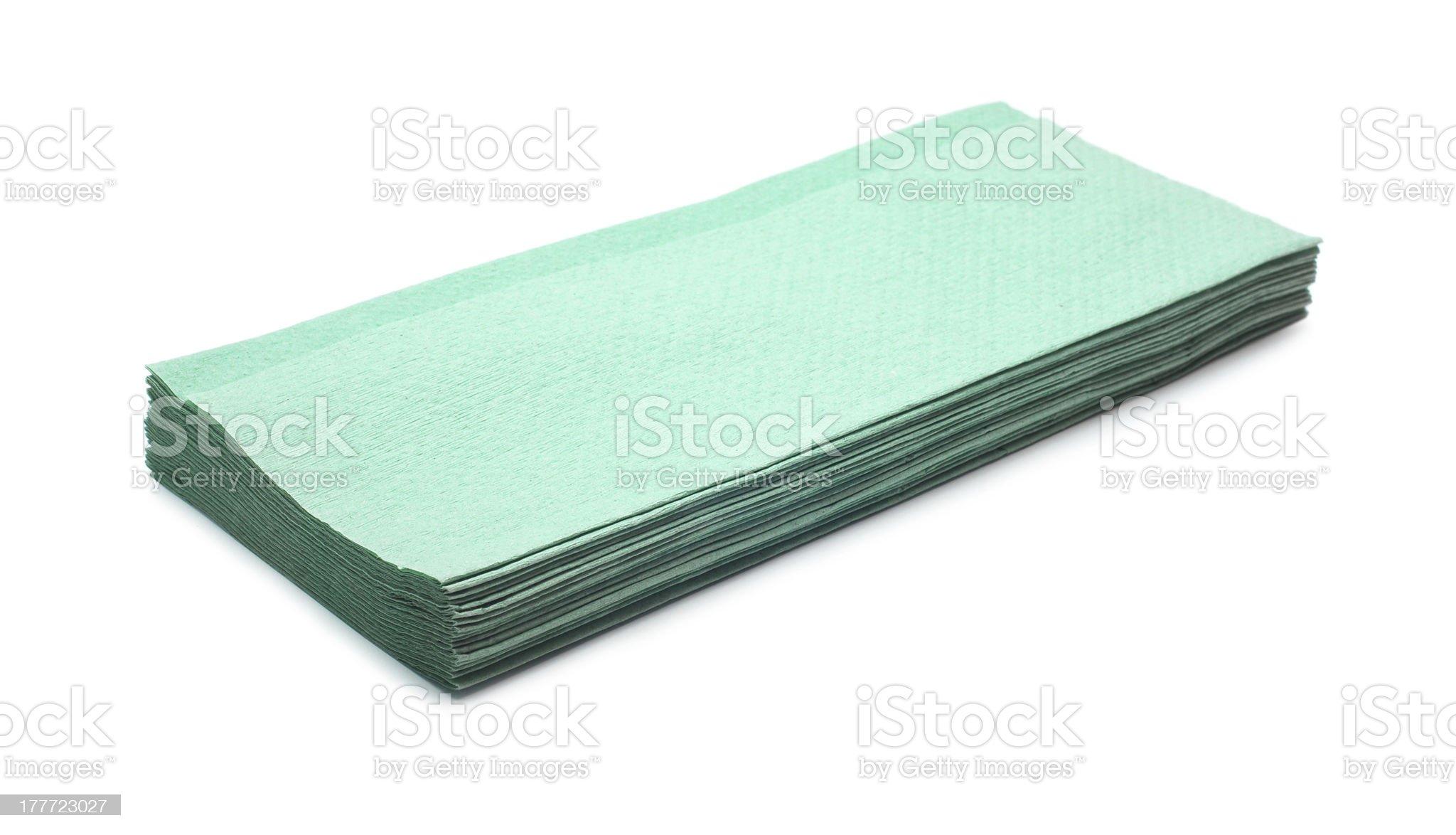 napkins royalty-free stock photo