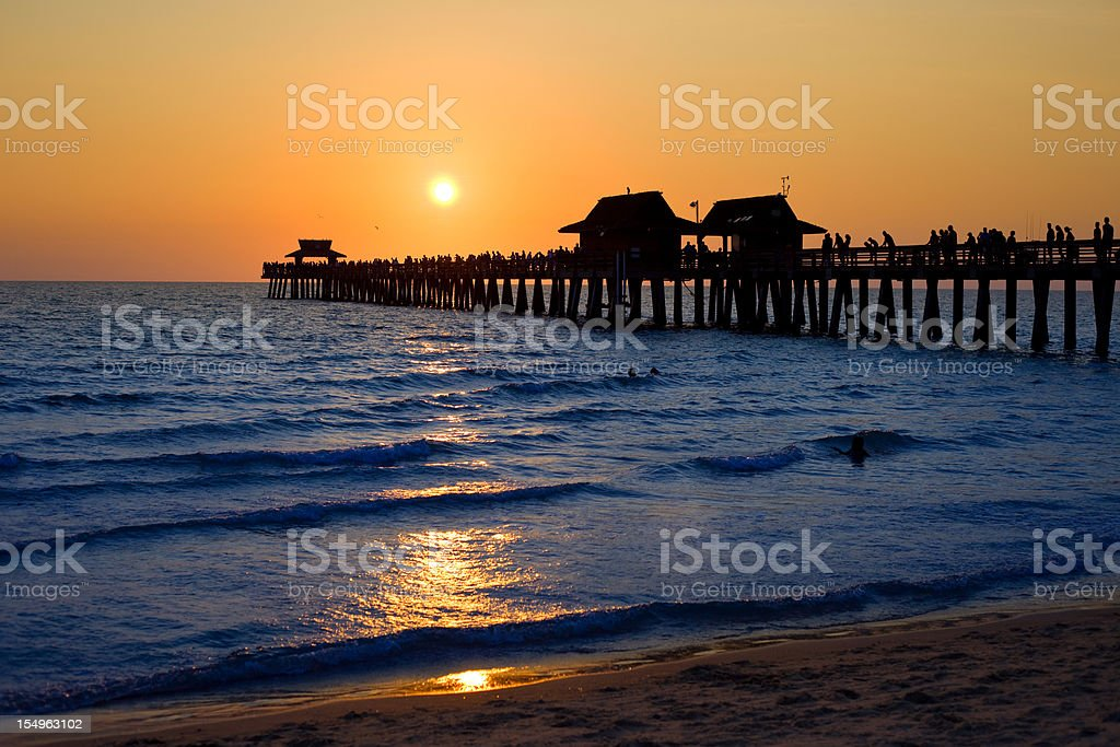 Naples, Florida, USA stock photo