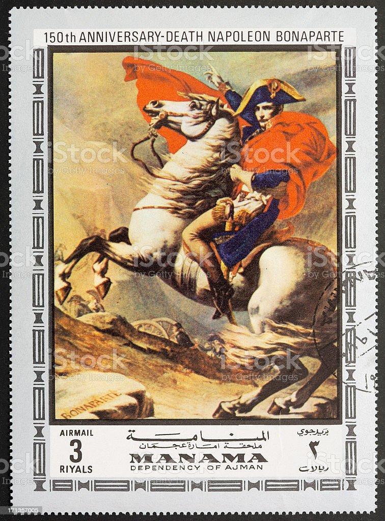 Napoleon Bonaparte stock photo
