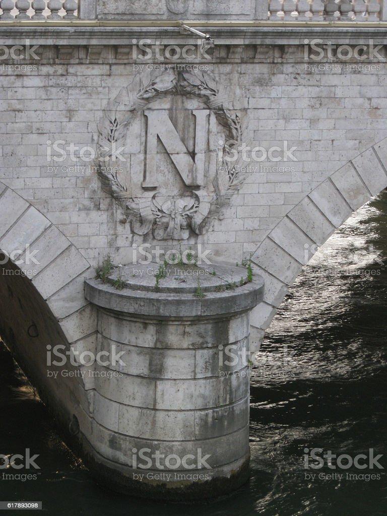 Napoleon bridge stock photo