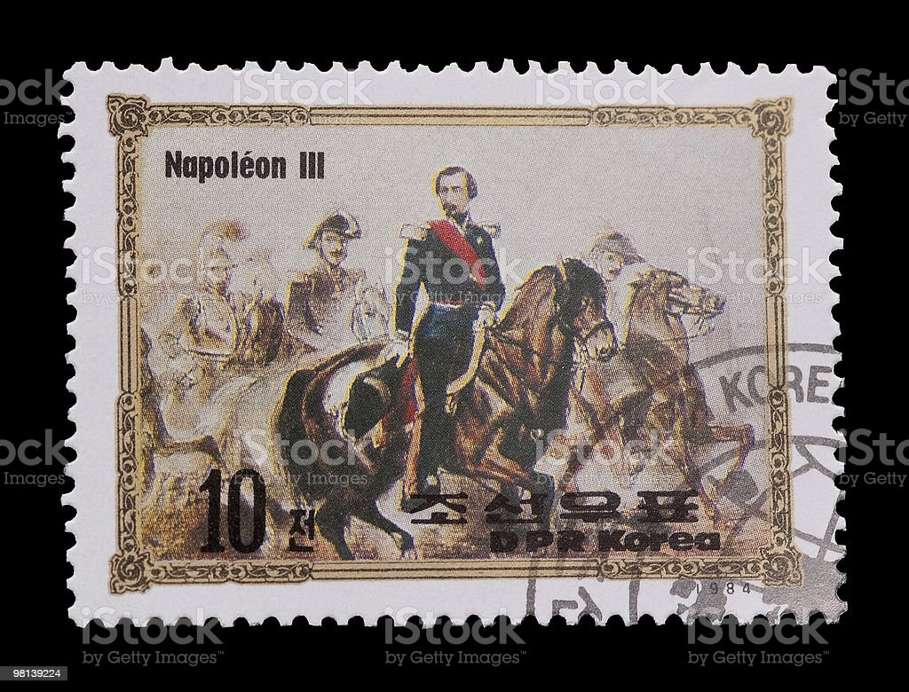 napoleon III stock photo