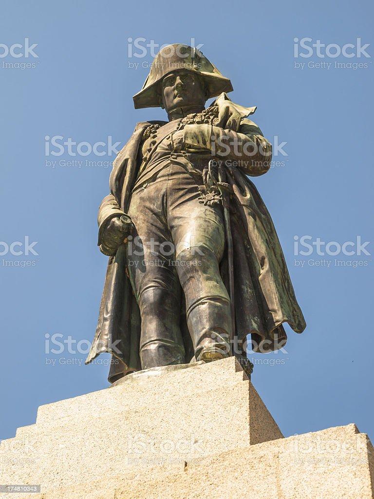 Napoleon in Ajaccio stock photo