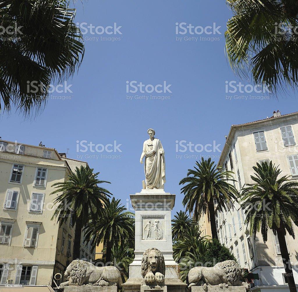 Napoleon in Ajaccio royalty-free stock photo