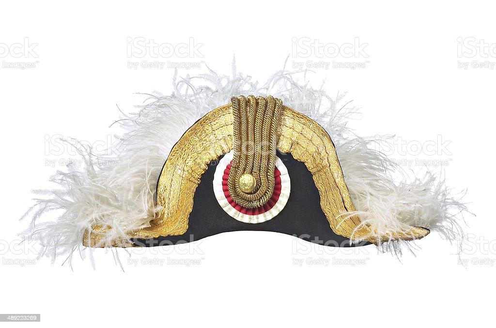 Napoleonic hat stock photo